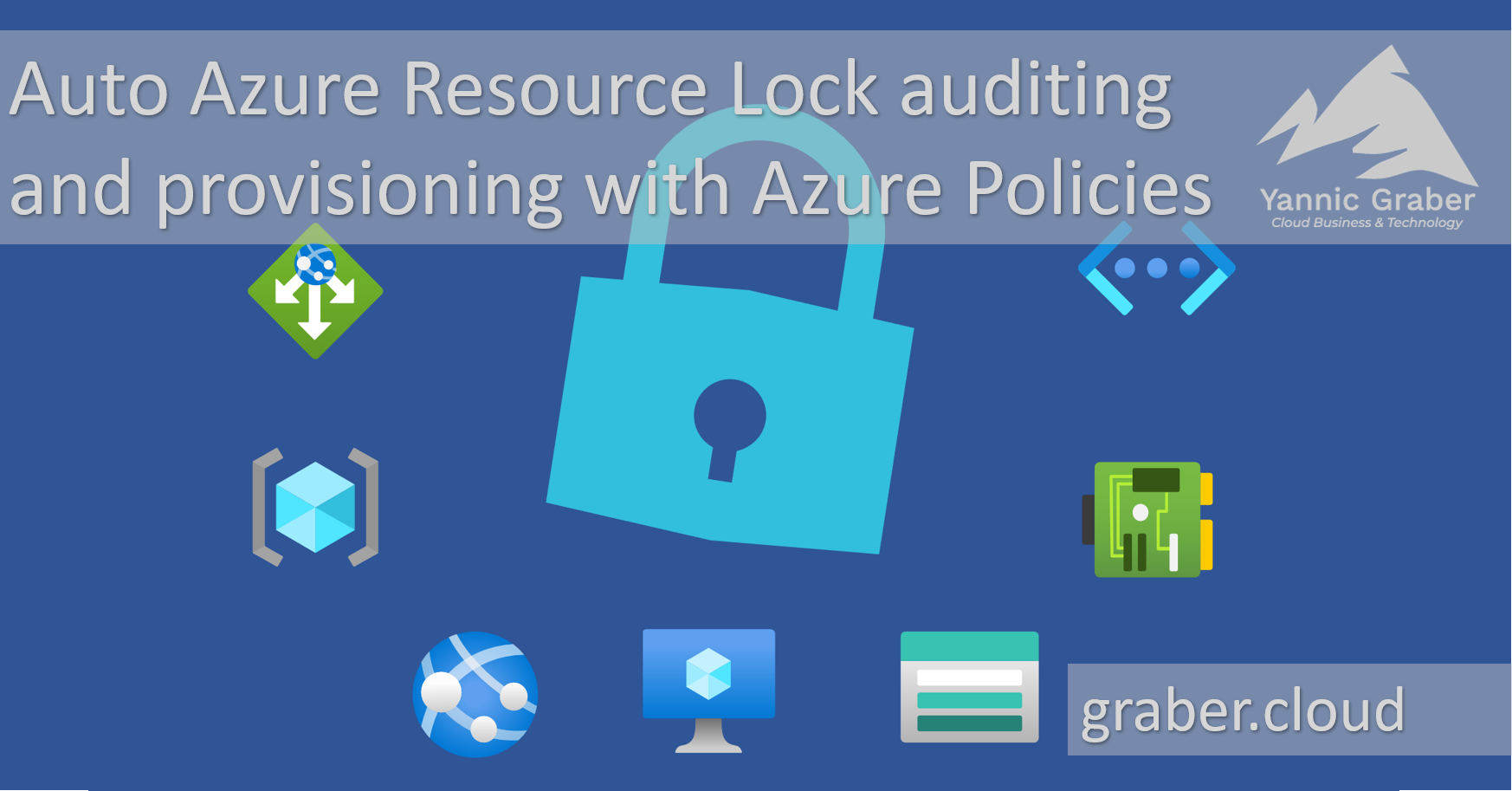 Banner - Auto Azure RG Lock with policies